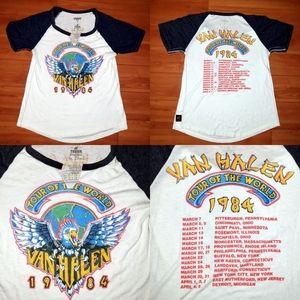 Van Halen 1984 Concert Tour Rock Band By Free Peop